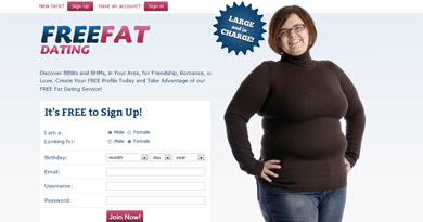 Free fat dating sites